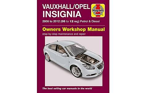 image of Haynes Vauxhall/Opel Insignia (08 - 12) Petrol and Diesel Manual