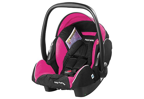 Recaro Young Profi Plus Baby Car Seat Pink