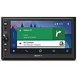 image of Sony XAV-AX100 6.4-Car Stereo with Apple CarPlay & Android Auto