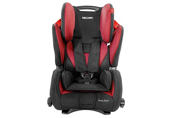 Recaro Young Sport Booster Seat Cherry