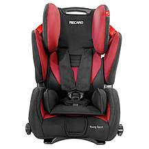 image of Recaro Young Sport Booster Seat Cherry