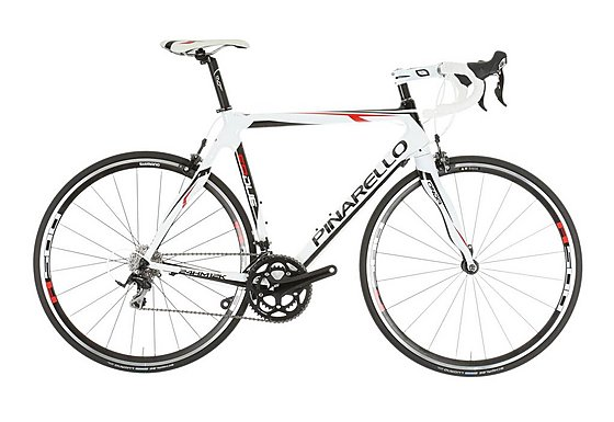 Pinarello FP Due White and Red Road Bike 53cm