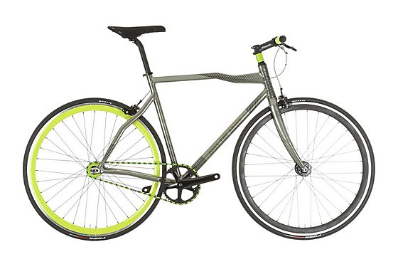 Pinarello 'Only the Brave' by Diesel Fixie Bike Acid Green 45cm