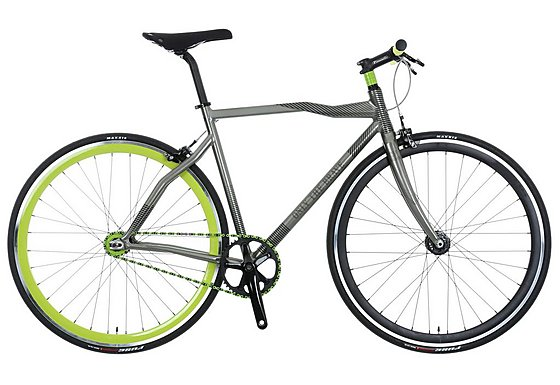 Pinarello 'Only the Brave' by Diesel Fixie Bike Acid Green 48cm