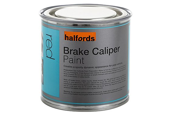 Halfords Brake Caliper Paint Red 250ml
