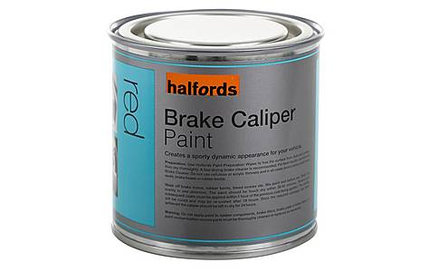 image of Halfords Brake Caliper Paint Red 250ml