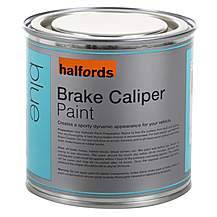image of Halfords Brake Caliper Paint - Blue 250ml