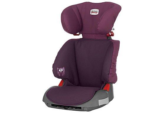 Britax Adventure High Back Booster Seat - Dark Grape
