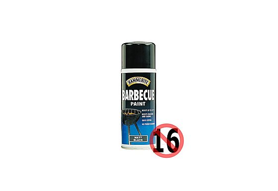 Hammerite Barbecue Paint Aerosol 400ml