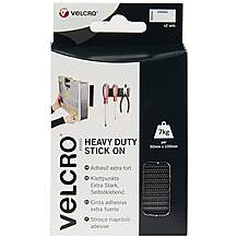 image of VELCRO Heavy Duty Strips Black