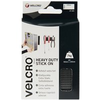 VELCRO Heavy Duty Strips Black