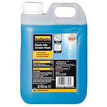 image of Halfords Ready Mixed Screen Wash 2 Litre