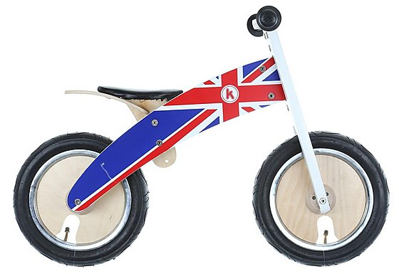 Kurve Union Jack Balance Bike