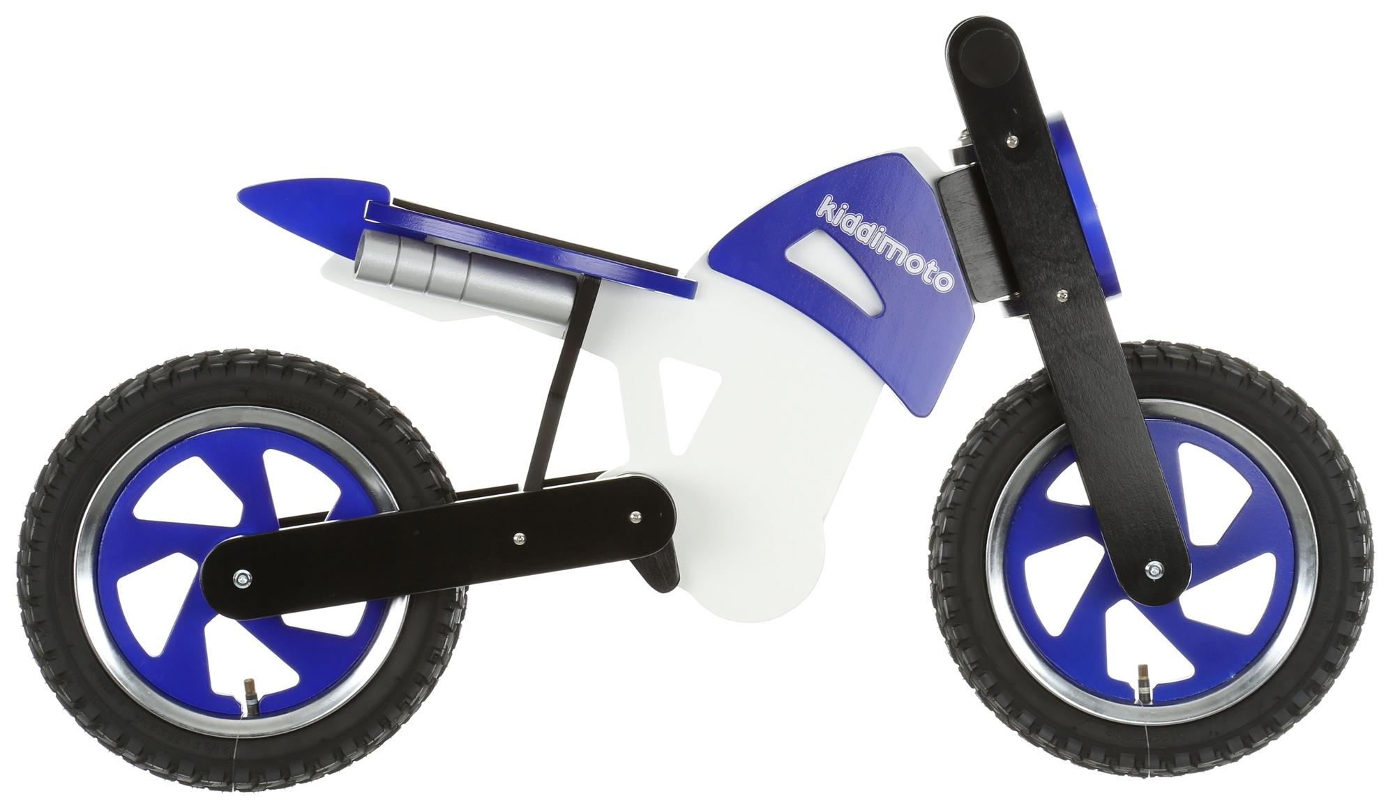 apollo wooden balance bike blue 1