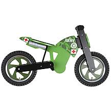 image of Kiddimoto Army Scrambler Balance Bike