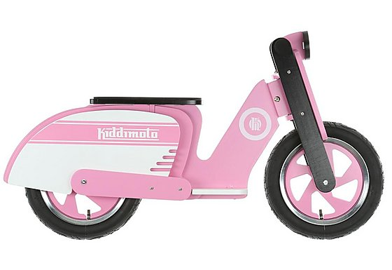 Scooter Pink Stripe Balance Bike