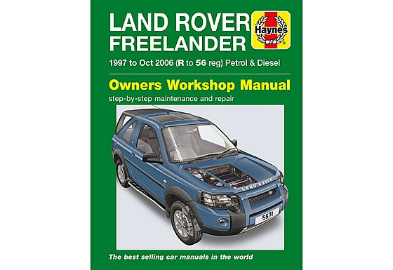 Haynes Land Rover Freelander (1997 - Oct 06) R to 56 Manual