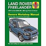 image of Haynes Land Rover Freelander (1997 - Oct 06) R to 56 Manual