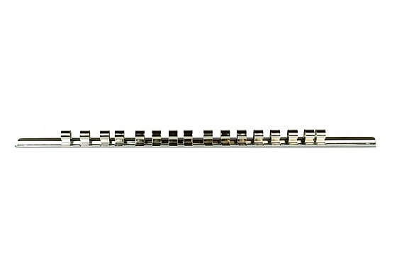 Halfords Professional 16 Piece Storage Rail 3/8