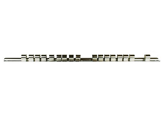 Halfords Professional 17 Piece Storage Rail 1/2