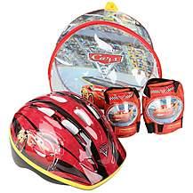 image of Cars 3 Helmet, Knee & Elbow Pad Set