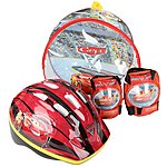 image of Cars 3 Helmet, Knee & Elbow Pad Set