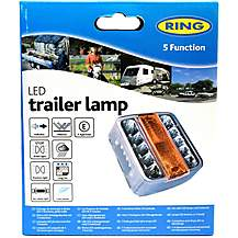 image of Ring RCT445 Clear Five Function LED Trailer Lamp