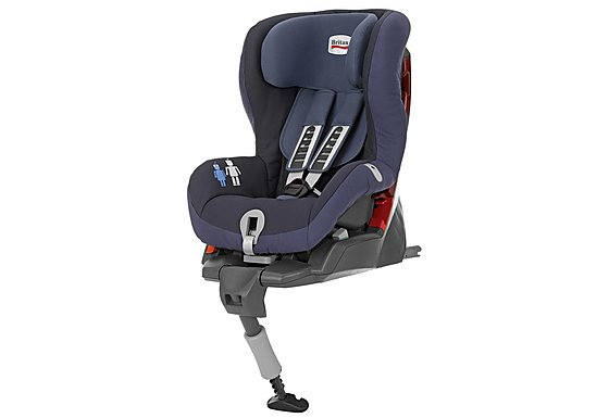 Britax Safefix Plus Child Car Seat Crown Blue