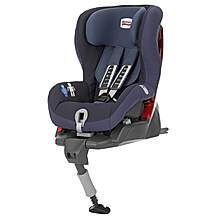 image of Britax Safefix Plus Child Car Seat Crown Blue