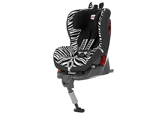 Britax Safefix Plus Child Car Seat Smart Zebra