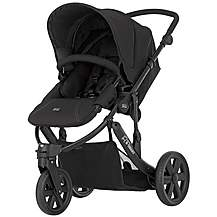 image of Britax B-Smart 3 Wheeled Pushchair Black Thunder