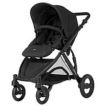image of Britax B-Dual 4 Wheeled Pushchair Black Thunder