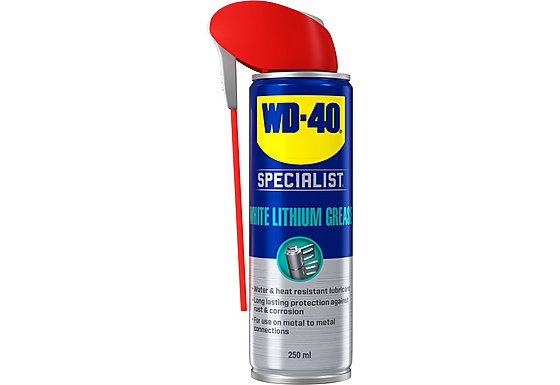 WD-40 Specialist High Performance White Lithium Grease 250ml
