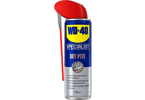 WD-40 Specialist Anti Friction Dry PTFE Lubricant 250ml