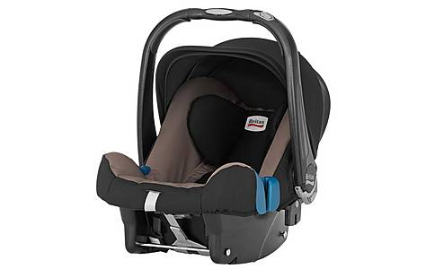 image of Britax Baby-Safe Plus SHR II Fossil Brown