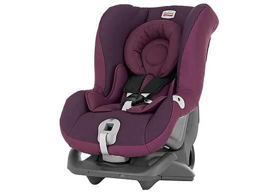 Britax First Class Plus Child Car Seat Dark Grape