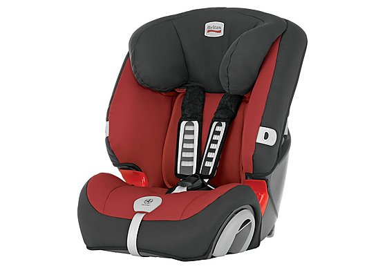 Britax Evolva 1-2-3 Plus Child Car Seat Chili Pepper