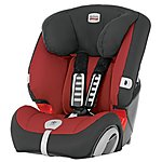 image of Britax Evolva 1-2-3 Plus Child Car Seat Chili Pepper
