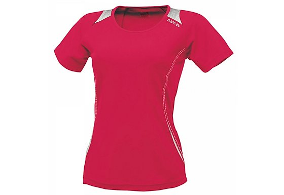 Dare 2b Womens Acquire Cycling Jersey Pink - Size 10