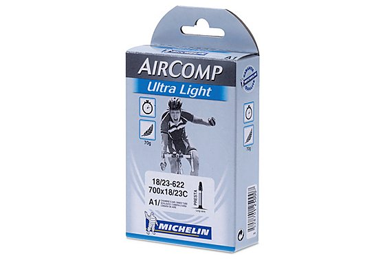 Michelin Air Comp Ultralight 700 x 18-23c Inner Tube - 60mm