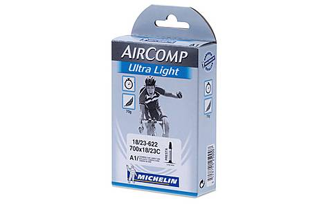 image of Michelin Air Comp Ultralight 700 x 18-23c Inner Tube - 60mm