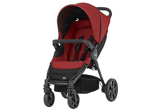 Britax B-Agile 4 Wheeled Pushchair Chili Pepper