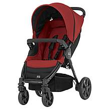 image of Britax B-Agile 4 Wheeled Pushchair Chili Pepper