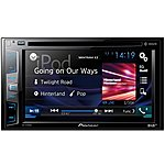image of Ex Display Pioneer AVH-X490DAB Car Stereo with Bluetooth