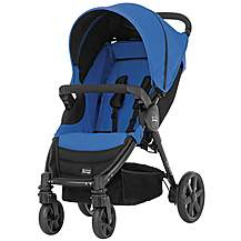image of Britax B-Agile 4 Wheeled Pushchair Blue Sky