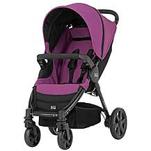 image of Britax B-Agile 4 Wheeled Pushchair Cool Berry
