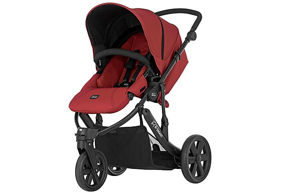 Britax B-Smart 3 Wheeled Pushchair Chili Pepper