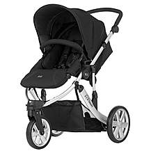 image of Britax B-Smart 3 Wheeled Pushchair Neon Black
