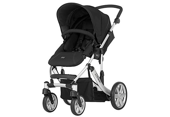 Britax B-Smart 4 Wheeled Pushchair Neon Black