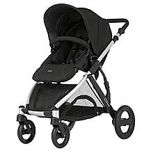 image of Britax B-Dual 4 Wheeled Pushchair Neon Black